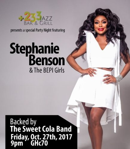 IMG 20171024 WA0035 435x500 - +233 Jazz Bar & Grill To Host Stephanie Benson & Her BEPI Girls For A Special Party Night