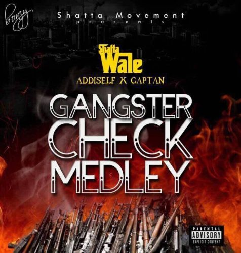 gangster 476x500 - Shatta Wale ft Addi Self & Captan - Gangster Check Medley