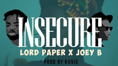 Photo of Lord Paper x Joey B – Insecure (Prod. by Kuvie)