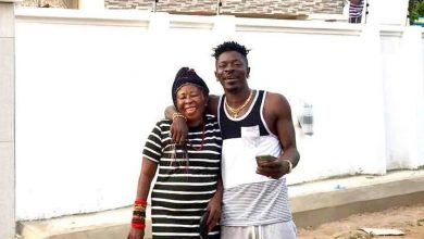 Shatta Wale Mum 2 390x220 - Photo: Shatta Wale buys brand New Car for Mum