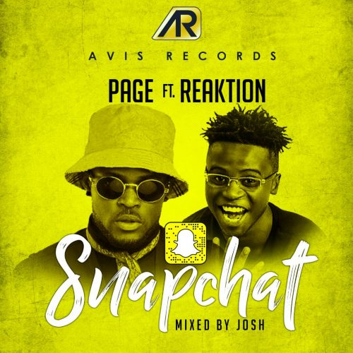 Page art 500x500 - Page feat. Reaktion - Snapchat (Mixed by Josh)