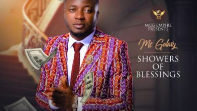 Photo of MC Galaxy – Showers Of Blessings (Prod. Spellz)
