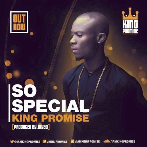 King Promise So Special 500x500 - King Promise - So Special (Prod. by Jayso)