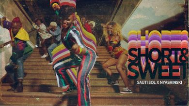 short and sweet 390x220 - Sauti Sol feat. Nyashinski - Short & Sweet (Official Video)