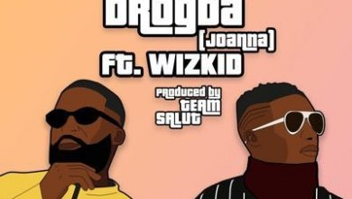 Afro B remix 390x220 - Afro B ft Wizkid - Drogba(Remix)(Prod. by Team Salut)