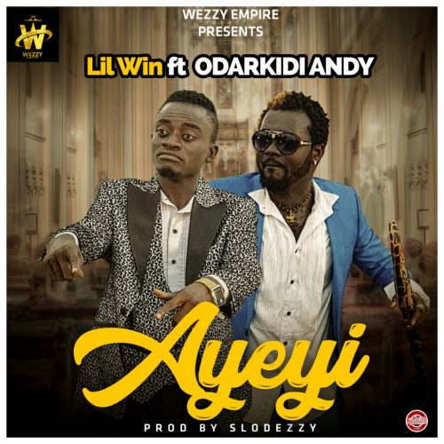 Lil Win Ft Andy Odarky Ayeyi  500x500 - Lil Win feat. Andy - Aseda (Prod. by 925 Musik)
