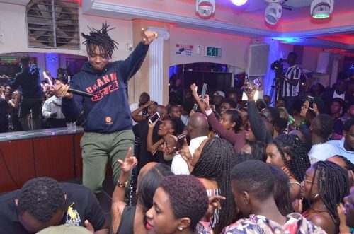 Magnom Snap Off 7 500x331 - Photos : Magnom & DJ Lord's Sold Out Concert In Uganda