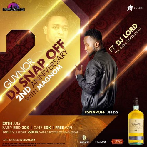 dj lord ug 500x500 - Uganda Is All Set To Receive Magnom & DJ Lord On The 20th Of July 2018.