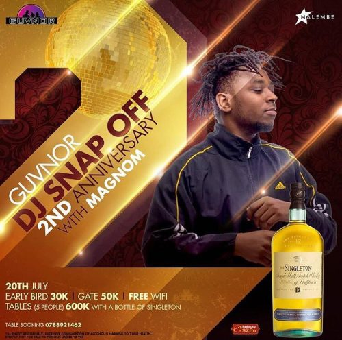 magnom ug 500x496 - Uganda Is All Set To Receive Magnom & DJ Lord On The 20th Of July 2018.