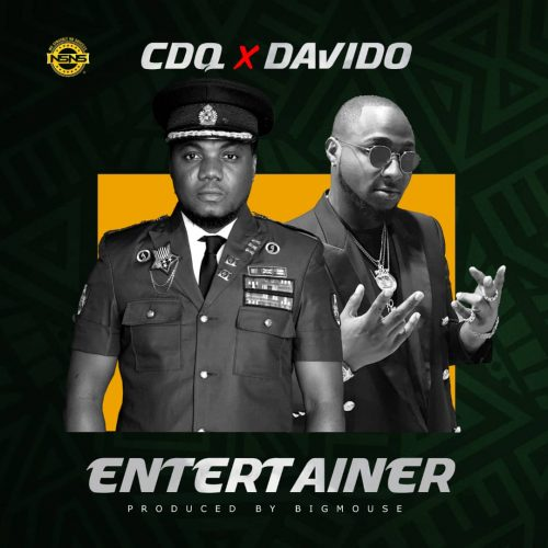 CDQ Davido 500x500 - CDQ feat. Davido - Entertainer (Prod. by Big Mouse)