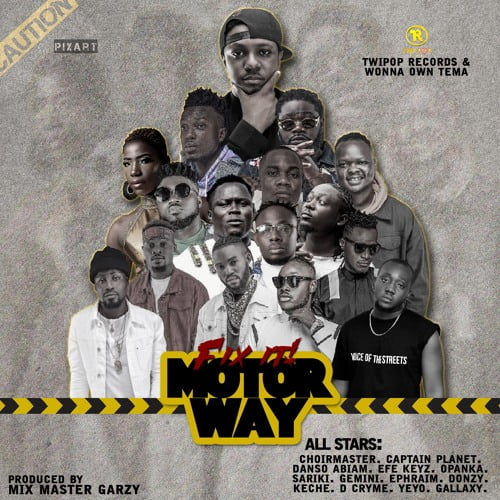 D Cryme All Stars - D Cryme feat. All Stars - Fix It (Motor Way) (Prod By Masta Garzy)