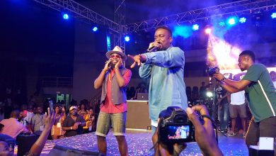 Photo of Video + Photos : Sarkodie Performs At Manifest's Manifestivities , Beef Squashed
