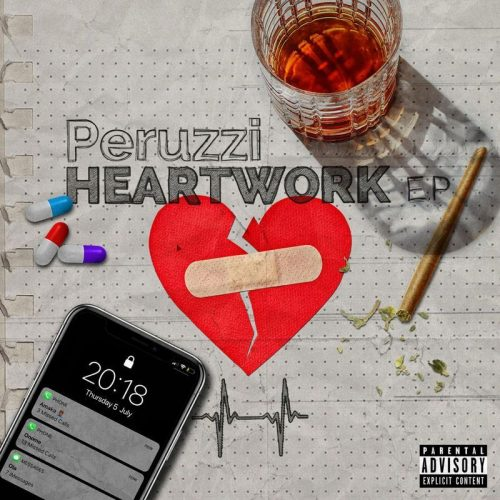 Peruzzi Heart Work cover 500x500 - Peruzzi ft Mayorkun - Ola (Prod. by Fresh VDM)