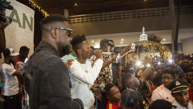 Photo of Sarkodie, Akwaboah and thousands of Music Fans at Strongman's STN EP