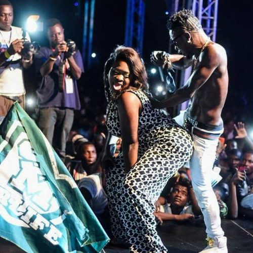 sista afia and shatta wale 500x500 - You thought I would suffer, but... - Shatta Wale responds to Michy