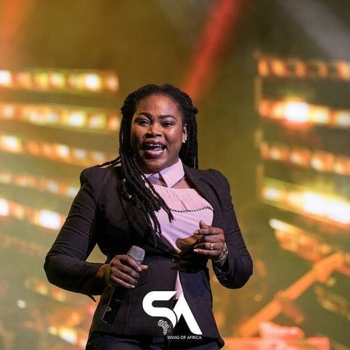 unnamed 13 500x500 - Video: Joyce Blessing Shakes Girltak Concert few Weeks after Delivering