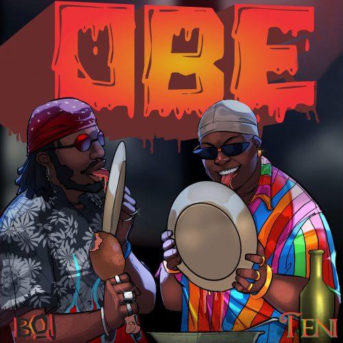 BOJ Obe Teni 500x500 - BOJ feat. Teni - Obe (Stew)
