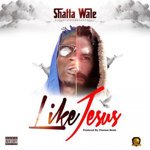 Like Jesus 500x500 - Shatta Wale - Like Jesus (Prod. by Chensee Beatz)