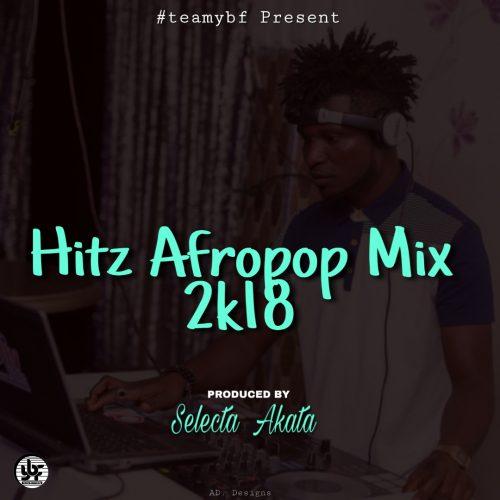 Selecta Akata art 500x500 - Selecta Akata - Afrobeat 2018 (Mixtape)