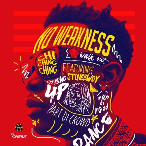 Stonebwoy Chi ching cover 500x500 - Stonebwoy x Chi Ching Ching - No Weakness