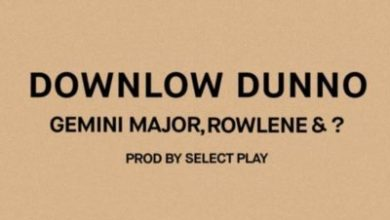 Downlow Dunno 390x220 - Gemini Major, Rowlene & ? – Downlow Dunno (Prod. by Select Play)