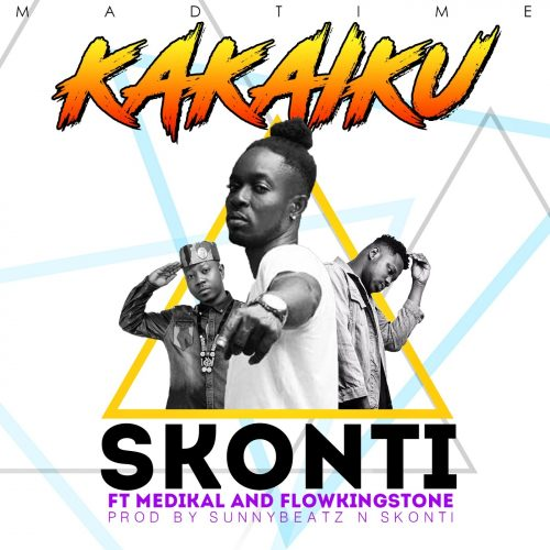 Skonti Kakaiku cover 500x500 - Skonti ft. Medikal & Flowking Stone - Kakaiku