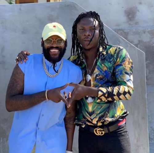 Stonebwoy tarrus riley 500x498 - Stonebwoy x Tarrus Riley - G.Y.A.L. (Girl You Are Loved) (Prod. by IzyBeats)