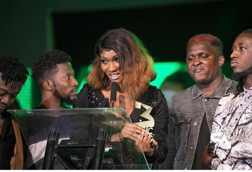 Wendy Shay 3 Music Awards 1024x700 - 3Music Awards 2019: Wendy Shay Crowned Break Through Act of The Year