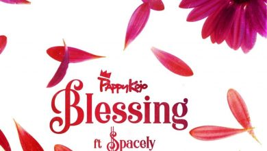 cover 2 390x220 - Pappy Kojo ft. Spacely - Blessing (Prod. by Nova)