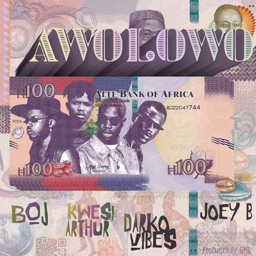 cover 8 500x500 - Boj ft Kwesi Arthur , Darkovibes & Joey B - Awolowo (Prod. by GMK)