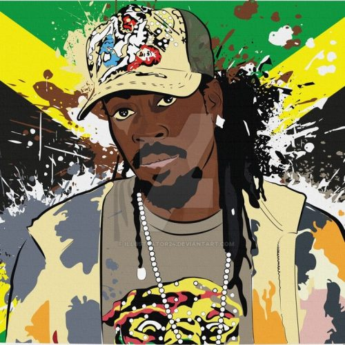 Beenie man cartoon 500x500 - Beenie Man - So It Stay
