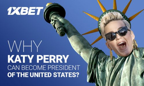 Katy Perry 800х480 500x300 - Can popstar Katy Perry become the next US President?  If Donald can do it, anything's possible...