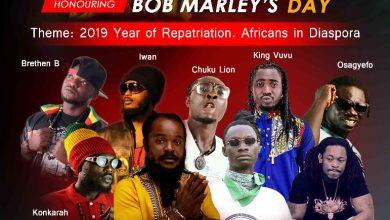 Photo of Ras Kuuku headlines Bob Marley Night with Iwan, King Vuvu, Osagyefo, Konkarah in Koforidua on May 11