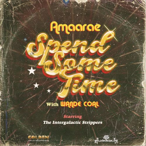 cover 500x500 - Amaarae ft Wande Coal - Spend Some Time
