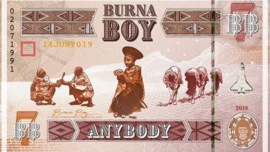 Burna Boy 1 anybody 390x220 - Burna Boy -  Anybody