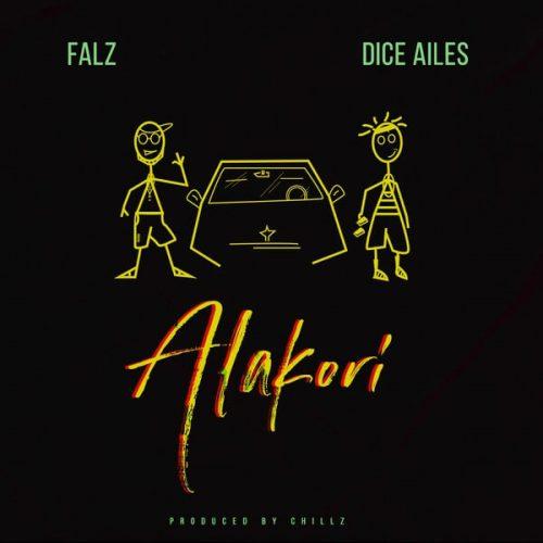 Falz alakori 500x500 - Falz ft. Dice Ailes - Alakori (Prod. by Chillz)