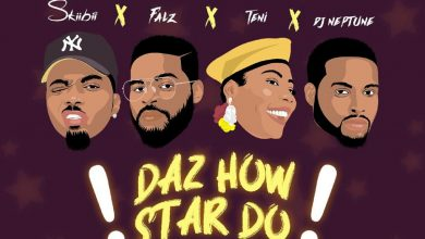 Skiibii Daz How Star Do 390x220 - Skiibii ft. Falz, Teni & DJ Neptune - Daz How Star Do