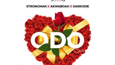 Strongman X Akwaboah X Sarkodie Odo artwork 390x220 - Strongman x Akwaboah x Sarkodie - Odo (Cover)