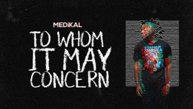To Whom It May Concern 390x220 - Medikal - To Whom It May Concern (Prod. by Unklebeatz)