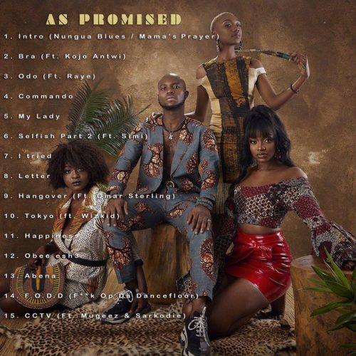 As Promised tracklist 500x500 - King Promised - As Promised (Full Album)
