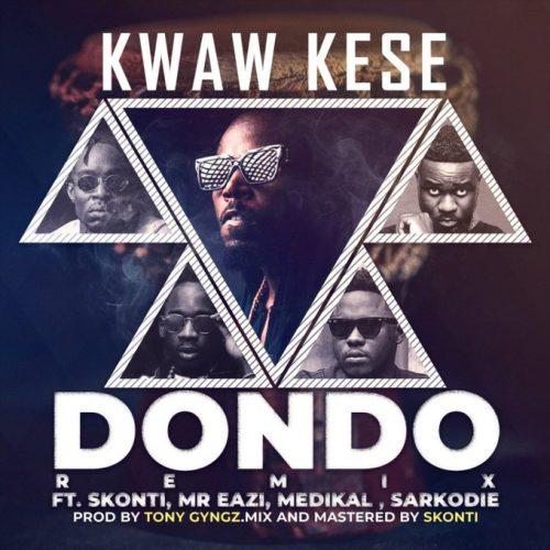 Dondo Remix 500x500 - Kwaw Kese ft Mr Eazi , Skonti , Sarkodie & Medikal - Dondo (Remix)(Prod by Tony Gyngz)