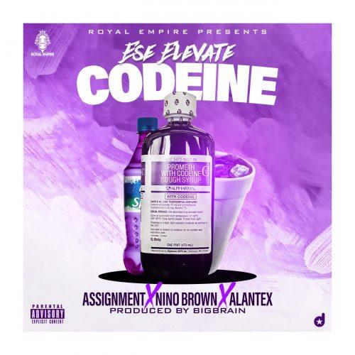Ese Elevate Codeine 500x500 - Ese Elevate ft. Assignment, Nino Brown & Alantex - Codeine