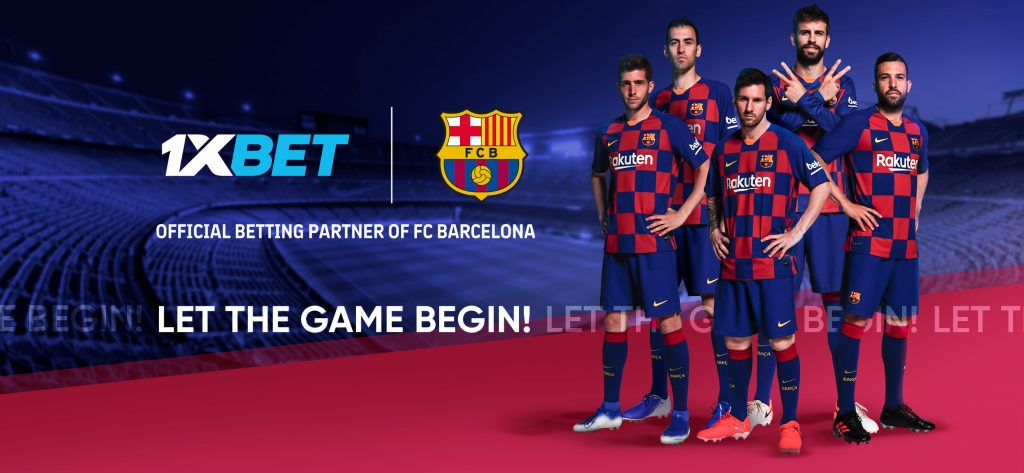 FC Barcelona 1024x473 - FC Barcelona adds 1XBet as a New Global Partner !!