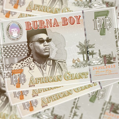 african giant cover 500x500 - Burna Boy - African Giant (Full Album)