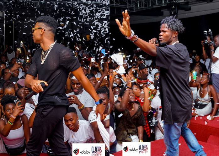 fameye kidi - Photos: KiDi and Fameye thrills Fans in Italy