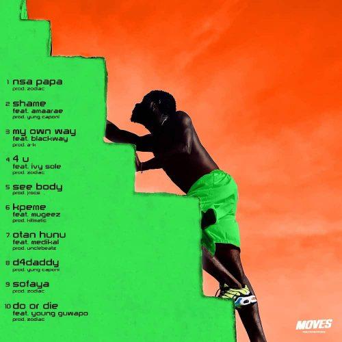 B4Bonah tracklist 500x500 - B4Bonah - B4Beginning (Full Album)