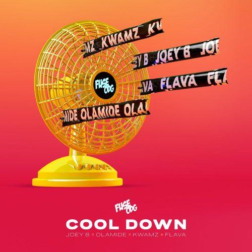 fuse odg 500x500 - Fuse ODG ft. Olamide, Joey B, Kwamz & Flava - Cool Down