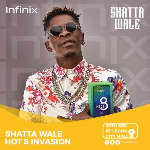 wale 5 1 500x500 - Shatta Wale LIVE at Legon City Mall - 20th September