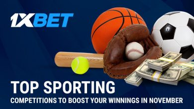 Top Sporting Competitions 800x480 390x220 - November is Very Hot with Sporting Events to Round Your Profit