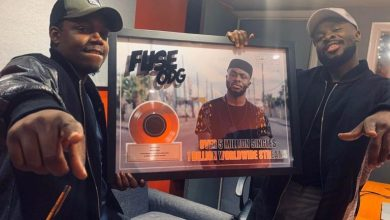Photo of Fuse ODG Awarded for Selling 5 Million Singles and Reaching 1 Billion Streams Across Platforms Worldwide